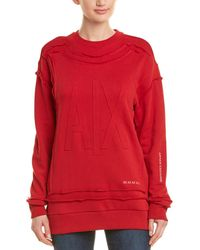 Armani Exchange Contoured Sweatshirt