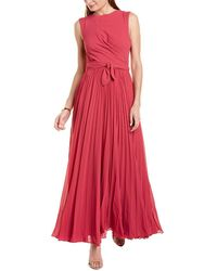 Fame & Partners Fame And Partners The Seville Gown - Pink