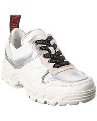Zadig & Voltaire Blaze Leather Sneaker - White