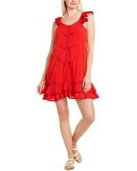 Peixoto Flamenco Dress - Red