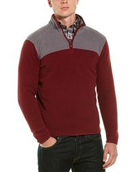 Brooks Brothers Polar Fleece 1/2-zip Pullover - Red