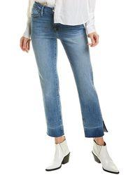 FRAME Denim Le High Light Blue Straight Leg Jean