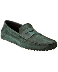 Tod's Tod?s Gommino Leather Loafer - Green