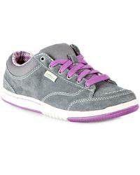 """Simple """"d-kay"""" Suede Sneaker - Natural"""