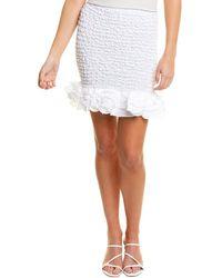 Petersyn Marlene Mini Skirt - White