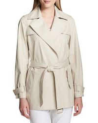 Calvin Klein - Classic Trench Coat - Lyst
