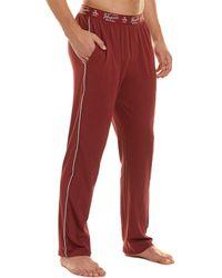 Original Penguin Knit Lounge Pant - Red