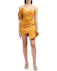 Acler Tomsey Dress - Metallic