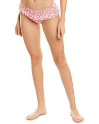 6 Shore Road By Pooja Bikini Bottom - Pink