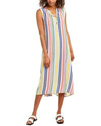 Emerson Fry India Collection Caftan Dress - White