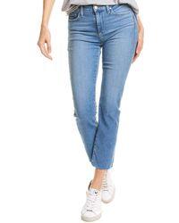 Joe's Jeans Joe?s Jeans Lara Kenora Mid-rise Straight Ankle Cut Jean - Blue