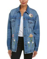 Ei8ht Dreams - Ei8ht Dreams Oversized Denim Jacket - Lyst