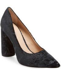 Pour La Victoire - Cecee Leather High Heel Pump - Lyst