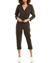 James Perse Linen Jumpsuit - Grey