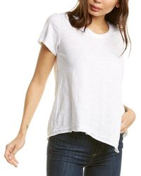 Wilt - Tie-back T-shirt - Lyst