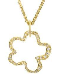 Robert Lee Morris 18k 0.80 Ct. Tw. Diamond Necklace - Metallic