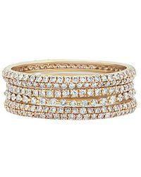 Diana M. Jewels . Fine Jewellery 14k 1.35 Ct. Tw. Diamond Ring - Multicolour