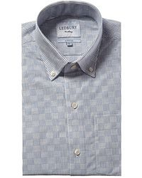 Ledbury Tamarack Classic Fit Dress Shirt - Blue