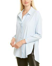 NIC+ZOE Tech Stretch Shirt - Blue