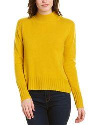 J.Crew Everyday Cashmere Sweater - Yellow