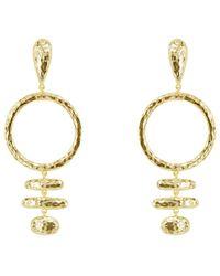 Melinda Maria - Sienna 18k Plated Drop Earrings - Lyst