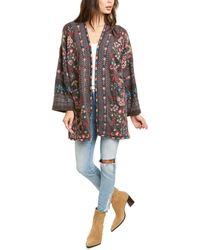 Johnny Was Aya Kimono - Multicolor