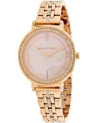 Michael Kors Cinthia Watch - Metallic