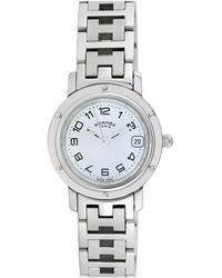 Hermès Hermes Clipper Watch, Circa 1990s - Metallic