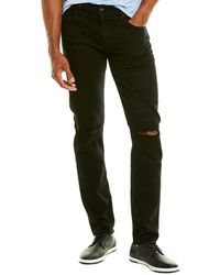 7 For All Mankind 7 For All Mankind Paxtyn Black Skinny Leg Jean