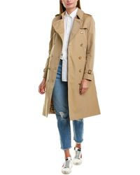 Burberry Kensington Long-length Heritage Trench Coat - Natural