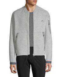 J.Lindeberg - Active M Athletic Tech Sweat Jacket - Lyst