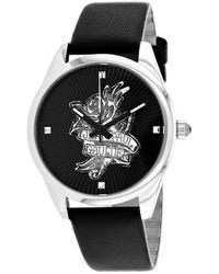 Jean Paul Gaultier Women's Navy Tatoo Watch - Metallic