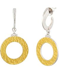 Gurhan Mango 24k Over Silver Drop Earrings - Metallic