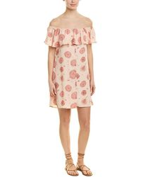 Sage the Label Queen Of The Highway Shift Dress - Pink