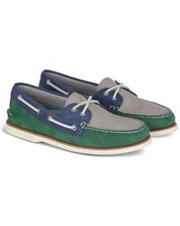 Sperry Top-Sider Gold Cup Authentic Original Tri-tone Boat Shoe - Blue