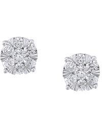Effy - Fine Jewellery 14k 1.65 Ct. Tw. Diamond Studs - Lyst