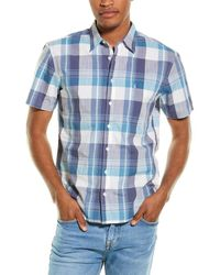 Joules Wilson Classic Fit Woven Shirt - White