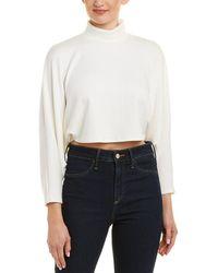 Rachel Pally Luxe Rib Crop Top - White