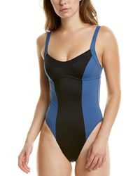 Solid & Striped The Hailey One-piece - Black