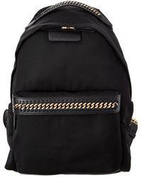 Stella McCartney Falabella Go Mini Backpack - Black