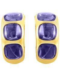 Pomellato - 18k Iolite Earrings - Lyst