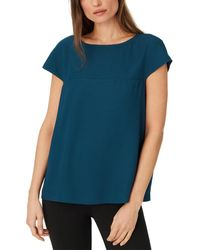 Club Monaco Seeley Knit Top - Blue