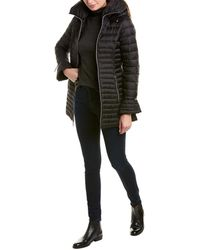Laundry by Shelli Segal Lightweight Puffer Coat - Black