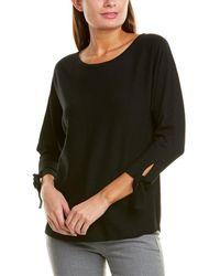 Max Studio - Tie-sleeve Sweater - Lyst
