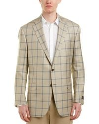 Hart Schaffner Marx - Chicago Classic Fit Wool, Silk, & Linen-blend Sport Coat - Lyst