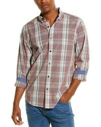 Sperry Top-Sider Plaid Woven Shirt - Red