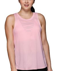 Lorna Jane Luxe Active Tank - Pink