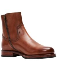 Frye Sawyer Leather Boot - Brown