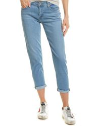 Levi's Light Wash Boyfriend Jean - Blue