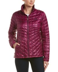The North Face Thermoball Full Zip Jacket - Purple